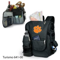 Clemson University Printed Turismo Tote Black