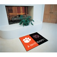 Clemson/South Carolina All-Star House Divided Rug