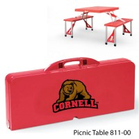 Cornell University Printed Picnic Table Red
