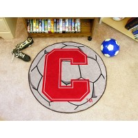 Cornell University Soccer Ball Rug