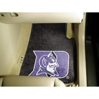 Duke University 2 Piece Front Car Mats