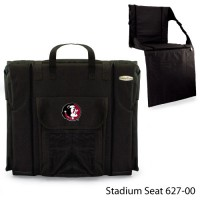 Florida State Printed Stadium Seat Black