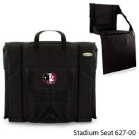 Florida State Printed Stadium Seat Black