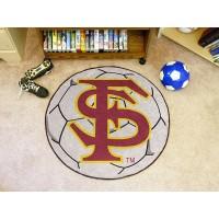 Florida State University Soccer Ball Rug