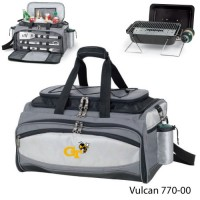 Georgia Tech Printed Vulcan BBQ grill Grey/Black