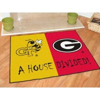 Georgia Tech - Georgia All-Star House Divided Rug