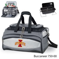 Iowa State Printed Buccaneer Cooler Grey/Black