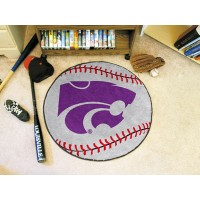 Kansas State University Baseball Rug