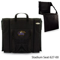 Louisiana State Printed Stadium Seat Black