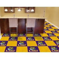 Louisiana State University Carpet Tiles