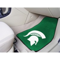 Michigan State University 2 Piece Front Car Mats