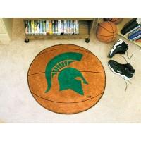 Michigan State University Basketball Rug