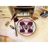 Mississippi State University Baseball Rug