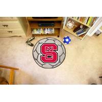North Carolina State Soccer Ball Rug