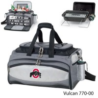Ohio State Embroidered Vulcan BBQ grill Grey/Black