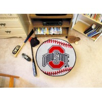 Ohio State University Baseball Rug