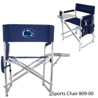 Pennsylvania State Embroidered Sports Chair Navy