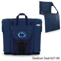 Pennsylvania State Printed Stadium Seat Navy
