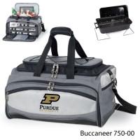 Purdue University Printed Buccaneer Cooler Grey/Black