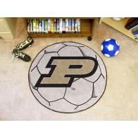 Purdue University Soccer Ball Rug