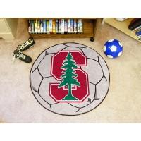 Stanford University Soccer Ball Rug