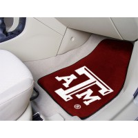 Texas A&M University 2 Piece Front Car Mats
