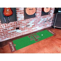 Texas A&M University Golf Putting Green Mat