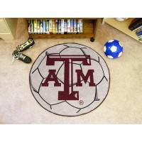 Texas A&M University Soccer Ball Rug