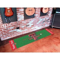 Texas Tech University Golf Putting Green Mat