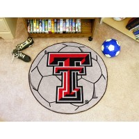 Texas Tech University Soccer Ball Rug