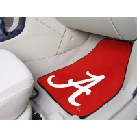 University of Alabama 2 Piece Front Car Mats