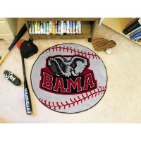 University of Alabama Baseball Rug