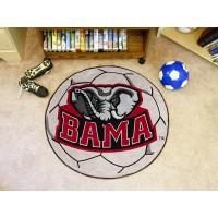 University of Alabama Soccer Ball Rug