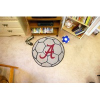 University of Alabama Soccer Ball Rug