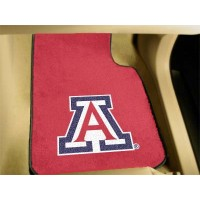 University of Arizona 2 Piece Front Car Mats