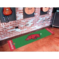 University of Arkansas Golf Putting Green Mat
