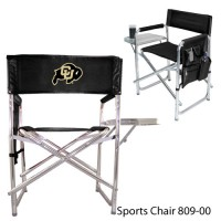 University of Colorado Printed Sports Chair Black