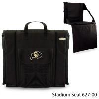 University of Colorado Printed Stadium Seat Black