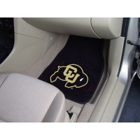 University of Colorado 2 Piece Front Car Mats