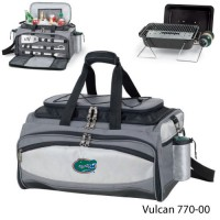 University of Florida Embroidered Vulcan BBQ grill Grey/Black