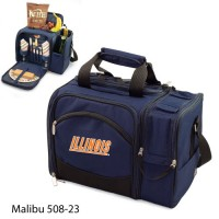 University of Illinois Embroidered Malibu Picnic Pack Navy