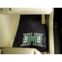 University of Hawaii 2 Piece Front Car Mats