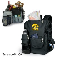 University of Iowa Printed Turismo Tote Black