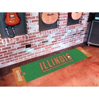 University of Illinois Golf Putting Green Mat