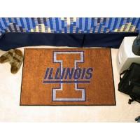 University of Illinois Starter Rug