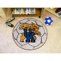 University of Kentucky Soccer Ball Rug