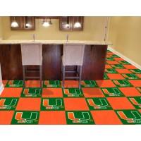 University of Miami Carpet Tiles