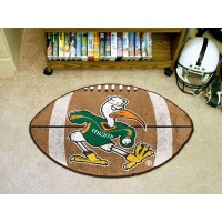 University of Miami Football Rug