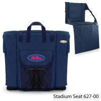 University of Mississippi Printed Stadium Seat Navy