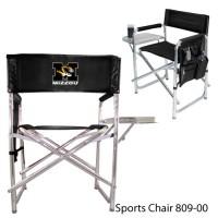 University of Missouri Printed Sports Chair Black